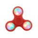 automatic light multicolor fidget spinner handspinner reduce pressure EDC toy triangular fingertip gyroscope