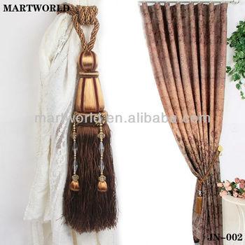 rideau d co embrasse rideau tassel accessoires jn 005 buy accessoires de rideau rideau de. Black Bedroom Furniture Sets. Home Design Ideas