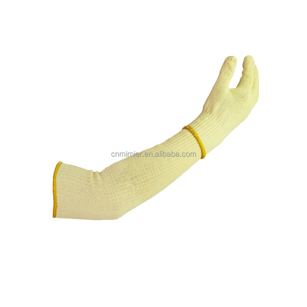 Manufacture Factory Outlet Yellow Anti Cut Stainless Steel Working Gloves