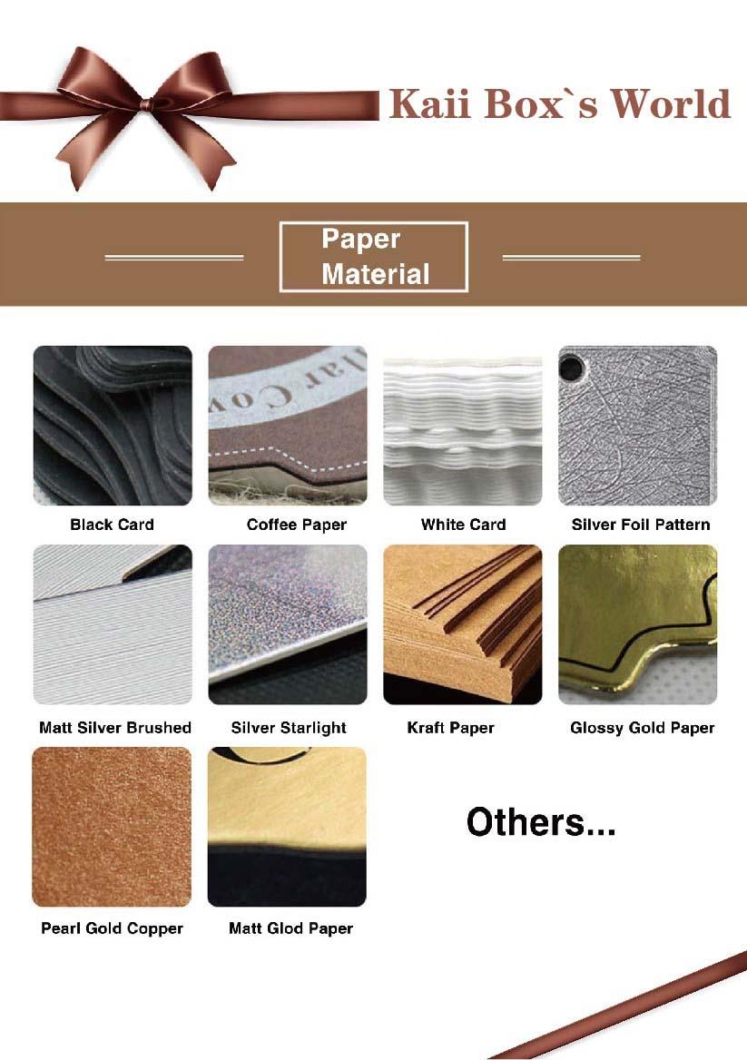 Novo design de luxo caixa de papel de embalagem de roupas íntimas