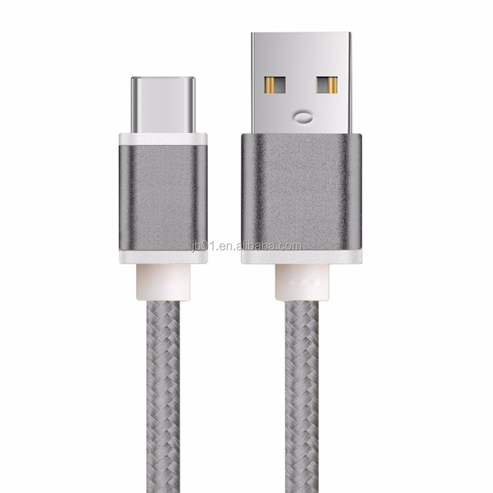 Millionwell OEM Customized USB 3.1 Type C Cable for USB C Phones Devices