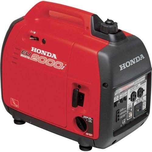 Get Quotations · Honda EU2000i 2000 Watt Portable Quiet Inverter Parallel  Gas Power Generator