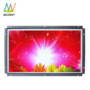High Brightness 13 15 15.6 Inch Flush Mount TFT LCD TV Monitor With 12V DC Input