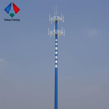 Towers 15m Steel Monopoles Mast Telecom Tower 4g Antenna Communication  Monopole - Buy Monopole Tower Telecom Monopole Steel Towers,15m Steel  Monopoles