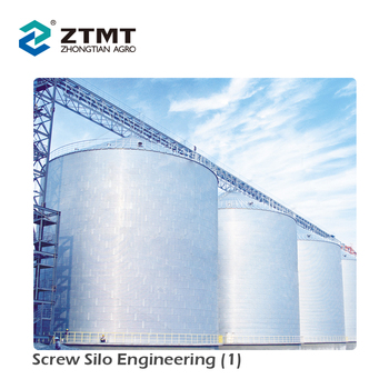 2018 Hot Sale Qualified 2000-10000 Tons Grain Storage Steel Silo