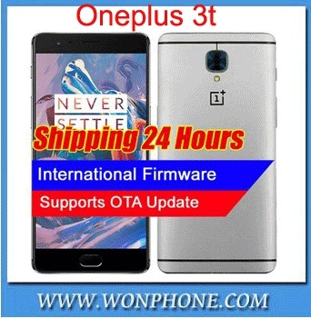 "Original Oneplus 3T A3010 LTE 4G Mobile Phone Snapdragon 821 5.5"" Android 6.0 6G RAM 64/128G ROM 16MP Fingerprint ID NFC"