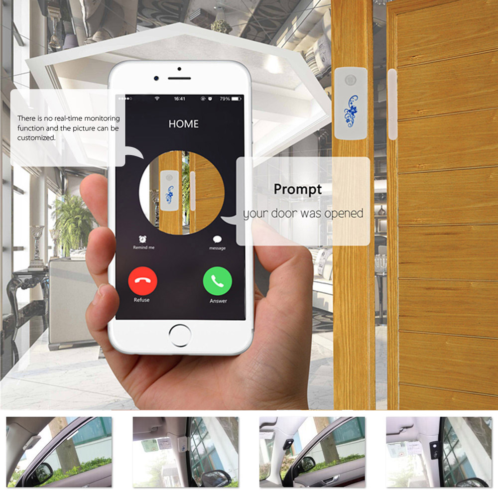 Двери окна автомобиля магнитный датчик GSM интеллектуальный вызов отправка сообщений Theftproof локатор главная охранной сигнализации система предупреждения