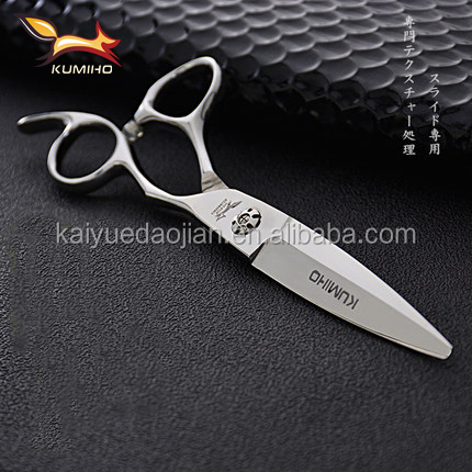HJ-60 professional hair slicer 6 inch wide blade hairdressing scissors high qulity hand made hair cutting scissors