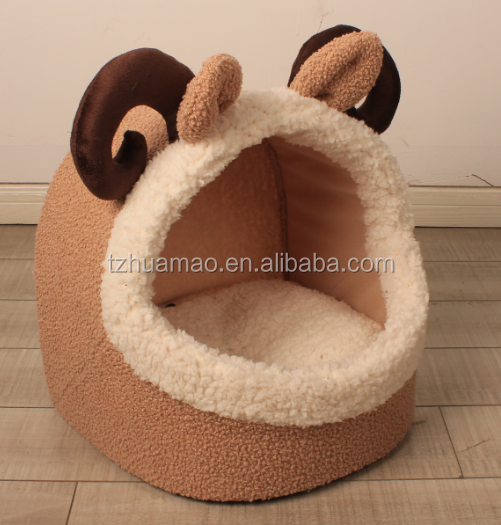 Comfort Cozy Pet Cat and Dog Bed house dog mat