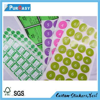 Print stickergarment stickerprice sticker
