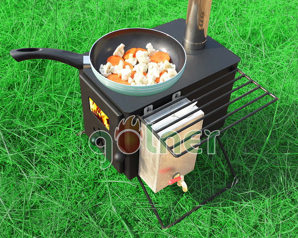 C-11 Camping Stove&small Wood Stove&steel Wood Burning ...