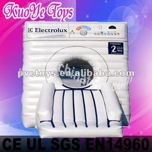 inflatable washing machine jumping castle