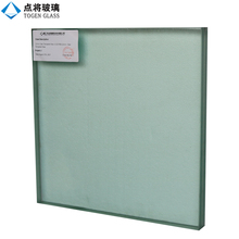 Sound Insulation Double Pane Clear Toughened Laminated Glass