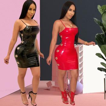Yq48 Sexy Damas Maduras Mujeres Sexy Mameluco Corto Sexy Mojado Vestido De Pvc Buy Mono Sexy Para Mujer Madurasexy Vestido De Mujer Maduravestido
