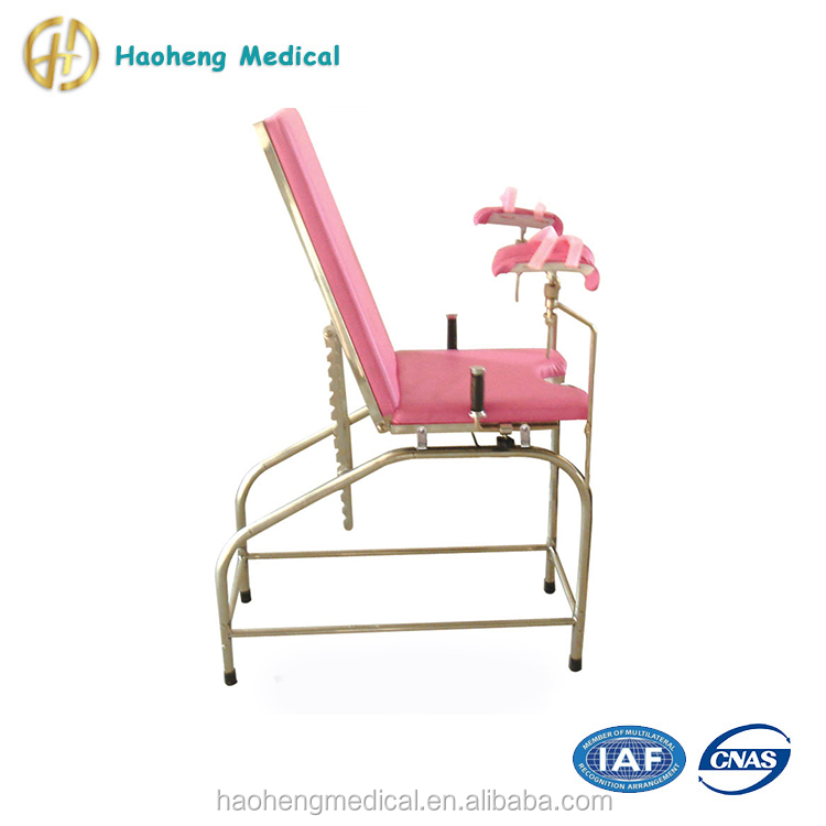 Medical Surgical Instruments Portable Gynecological Examination Chair