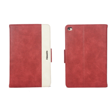 brand design pu leather folio cover for ipad mini 4 with stand function