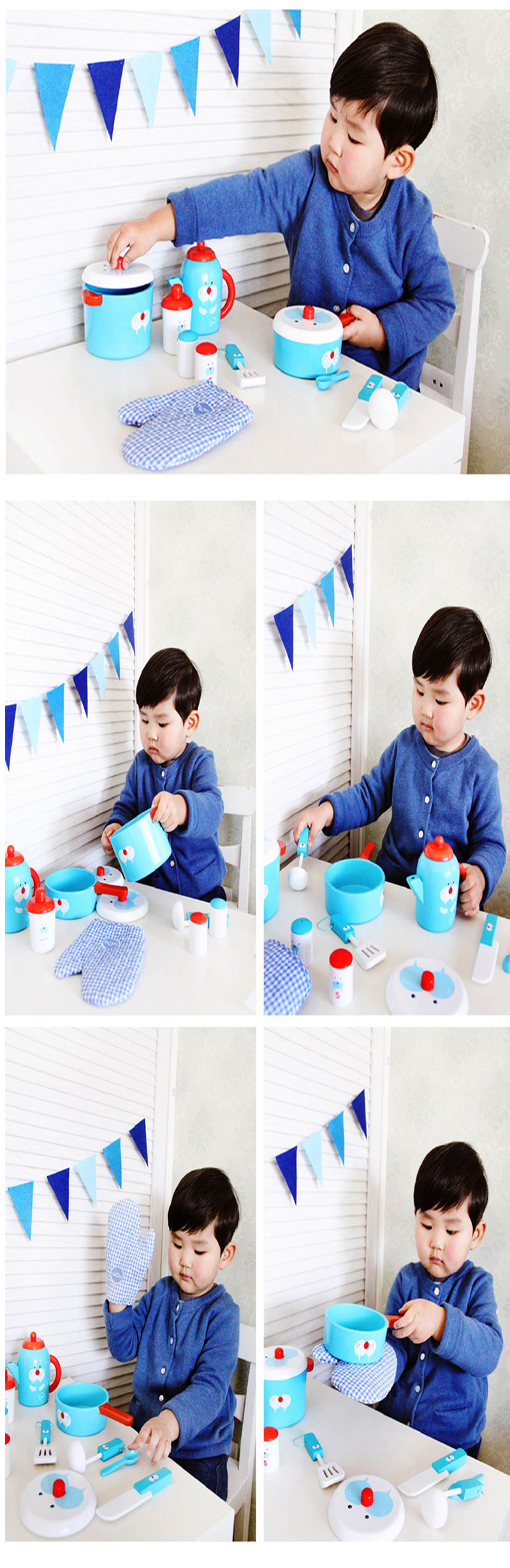 Elephant Seal Table Ware Club Toys Kitchen Play Wonder Kitchen Play ...