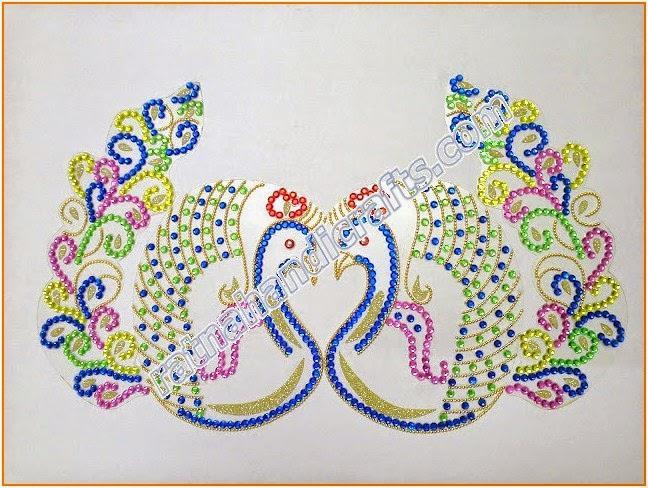 Acrylic Rangoli Peacock Design Home Decor Diwali Decoration Indian ...