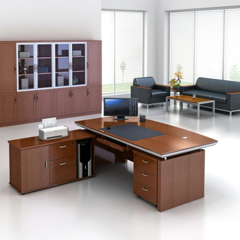 Image result for walnut office desk