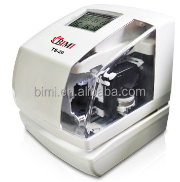Durable date and time stamp machine, TS-20 from Bimi factory