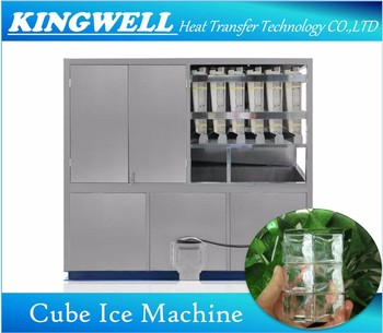 3tons Per Day Commercial Used Square Cube Ice Machine