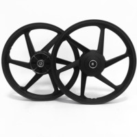 18 inch motorcycle aluminum alloy wheel rims 6 spokes HD