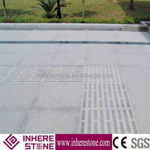 G654 blind granite stone walkway pavers for sale