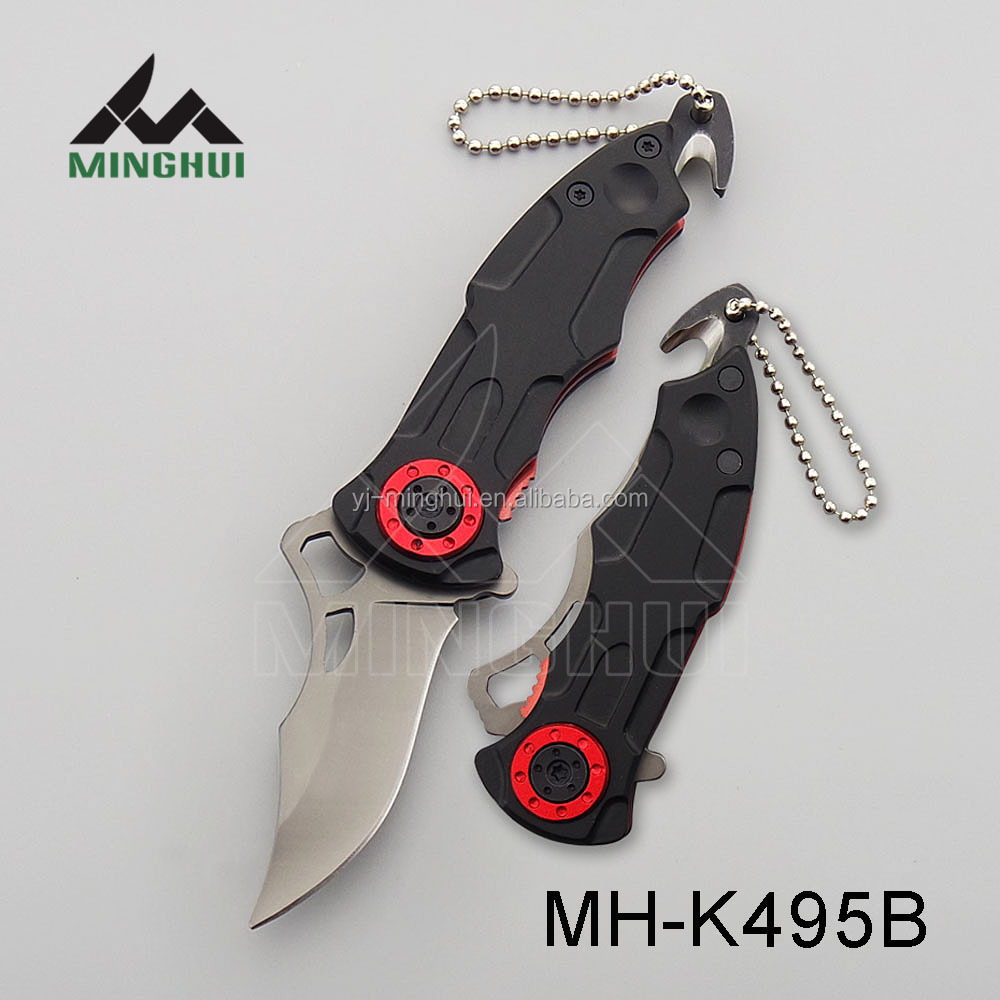 Hand craft knife with keychain