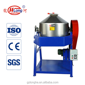 Stainless steel rotating drum powder mixer