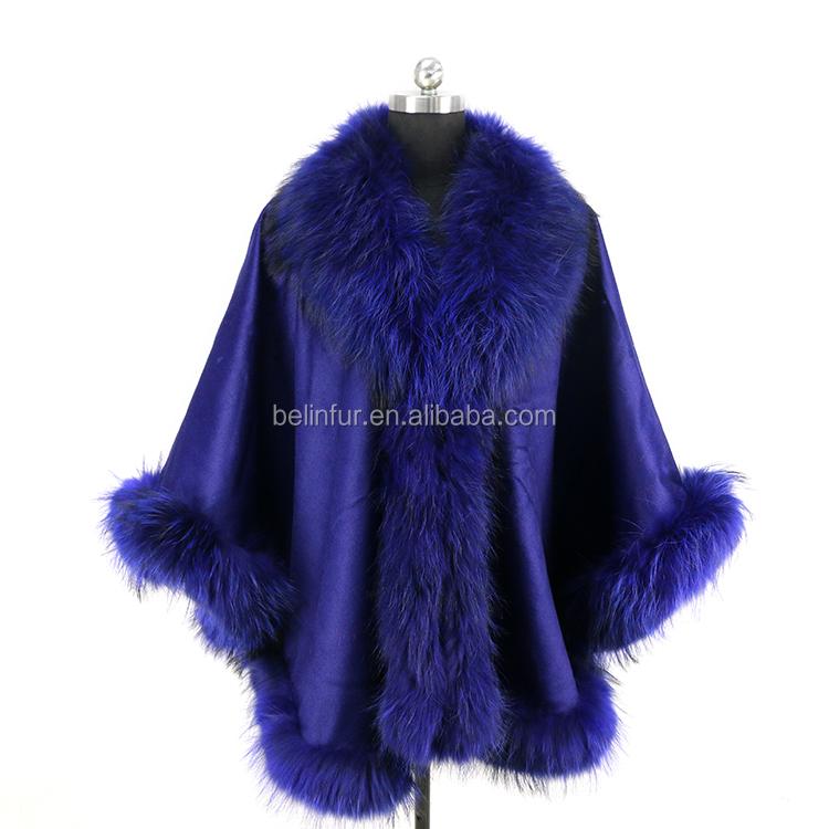 ขายส่งราคาที่กำหนดเองแฟชั่นฤดูหนาวผู้หญิงธรรมชาติฟ็อกซ์ขนเสื้อปาร์เกอะสำหรับขาย