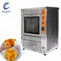 Automatic Roasted Sweet Potato Machine Gas Sweet Potato Machine Automatic Electric Baking Sweet Potato Oven