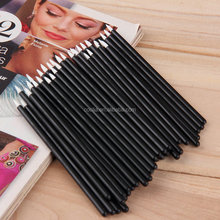 50 Pcs/Lot Disposable Lip Brush Set MakeUp Lipstick Gloss Wands Applicator Clean Make Up Cosmetic Tool Black Portable Travel