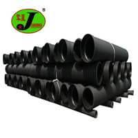 plastic culvert pipe prices sn8 hdpe twin wall black 600mm hdpe corrugated pipe