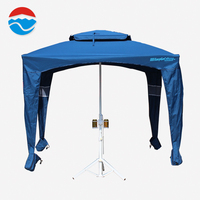 Holiday use waterproof windproof aluminum pop up sun portable outdoor beach cabana for sale