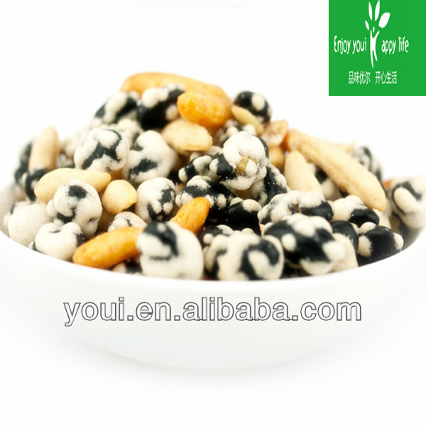 Wasabi Flavor Dry Roasted Black Beans