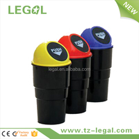 Plastic Mini trash can decorative trash can plastic desktop trash can