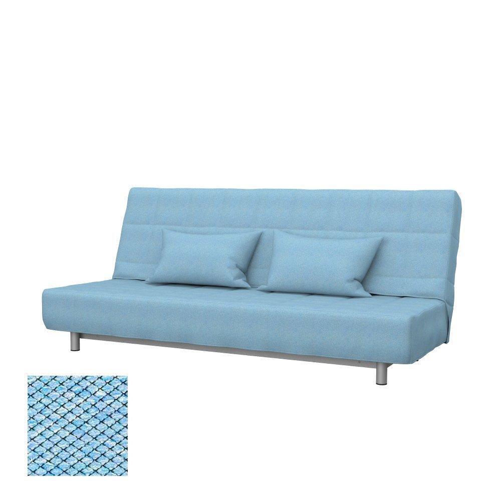Soferia - IKEA BEDDINGE 3-seat sofa-bed cover, Nordic Blue