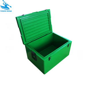 Rotomolded dry ice storage box flower cold storage 68L
