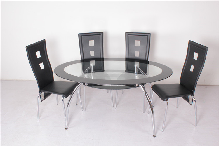 Mesas de comedor de cristal ovaladas casa dise o casa dise o - Mesas ovaladas de cristal ...