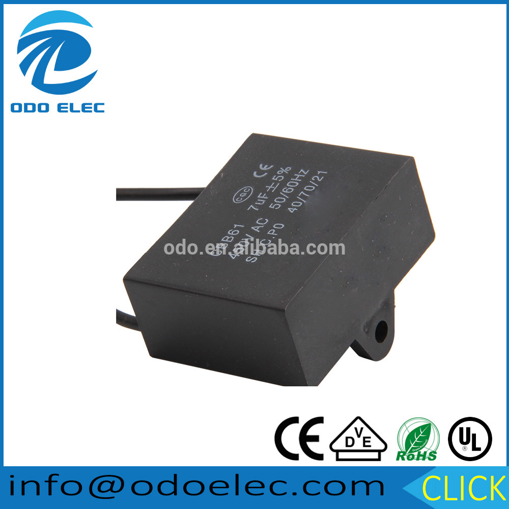 New product 2017 cbb61 generator capacitor for ICU&CCU use