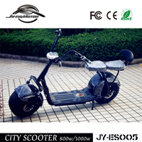 Factory good price fat tire 60V12Ah halley electric scooter 1000W CE approved