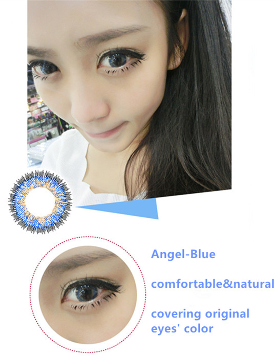 14 Fresh Colors 1 Year 3 Tone High Quality Korea Cheap Colored ...