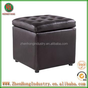 Hongyang Square storage stoolsUpholstered stool ottoman and Wooden square bar stools & Hongyang Square Storage StoolsUpholstered Stool Ottoman And Wooden ...