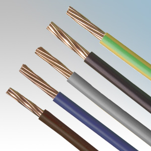 Electrical Supplier 6 Awg Solid Copper Wire 1.5mm2 Single Strand ...