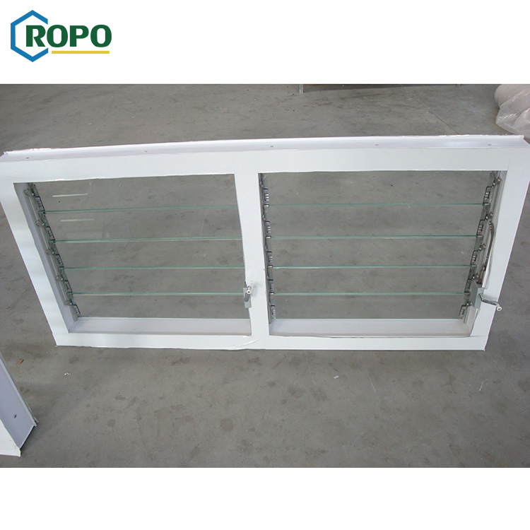 Wholesale glass slat bay shutter windows for sale