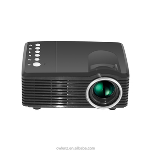 Pocket Projector Mini led Video Projector Home Theater Projector SD30 Similar as YG300