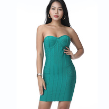 <span class=keywords><strong>2019</strong></span> hoge kwaliteit mouwloze sexy hyperelastic bodycon off shoulder strapless vrouwen mid backless <span class=keywords><strong>jurk</strong></span> voor party <span class=keywords><strong>prom</strong></span> fabriek