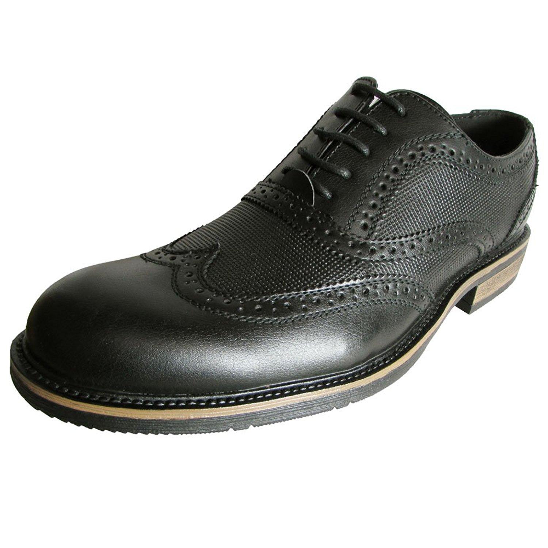 3adab3b5033 Buy Steve Madden Mens Prefix Leather Wingtip Dress Shoe, Tan, US 13 ...