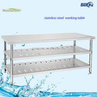 Commercial Equipment Restaurant Kitchen Furniture /Stainless Steel Work Table