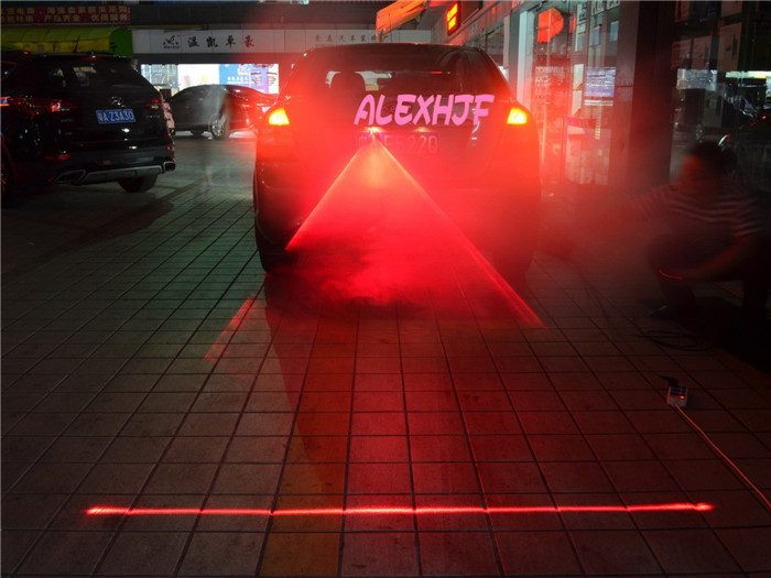 Anti Collision Laser Warning Light Of Automobile Car